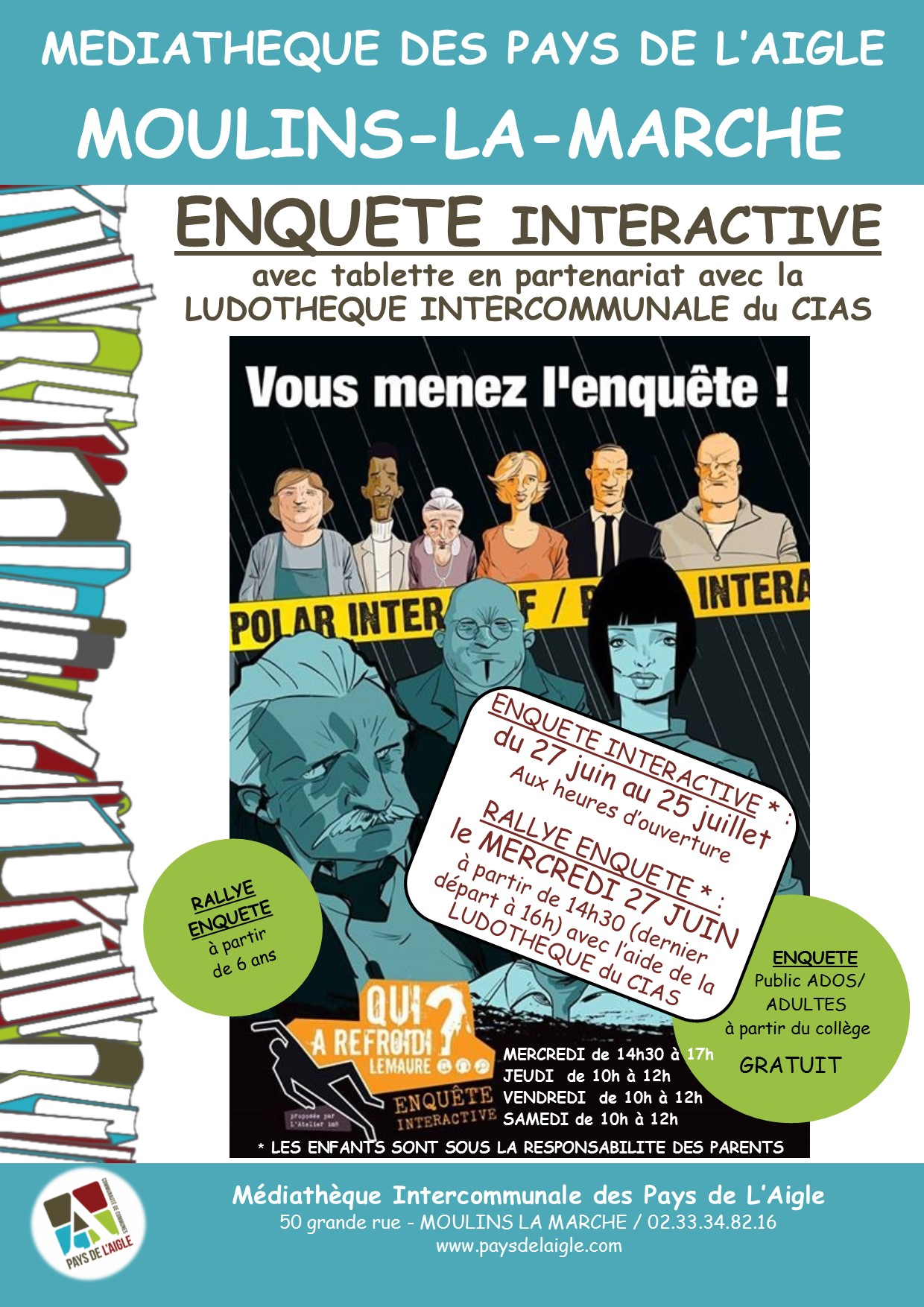 AFFICHE MOULINS EXPO LEMAURE